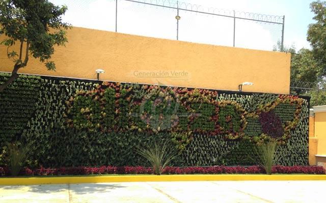 Jardín Vertical Bodegas Alianza, La Joya