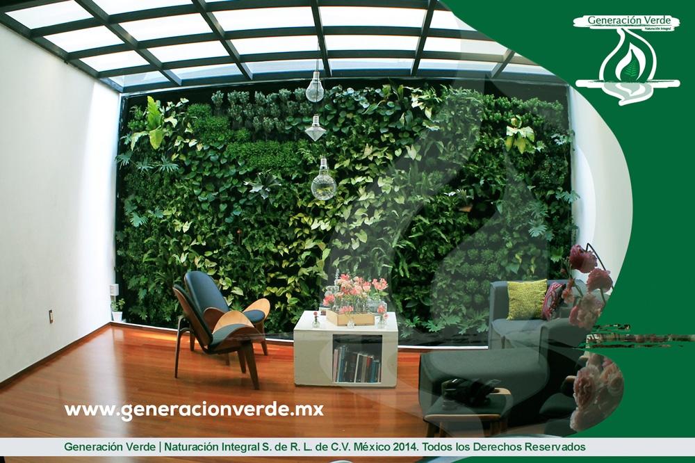 Proyectos jardines verticales y azoteas verdes 2014 for Proyecto jardines verticales