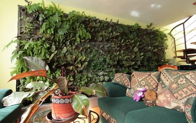 Jardín Vertical Prado Churubusco, Coyoacán