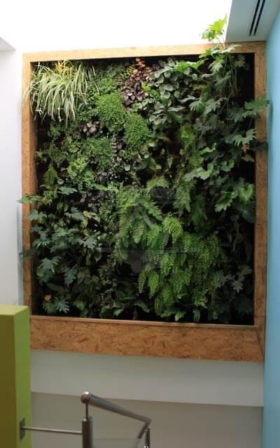 Jard n vertical mccormick for Historia de los jardines verticales