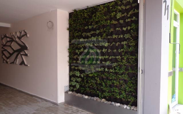 Muro Verde Interior, Polanco IV Secc.