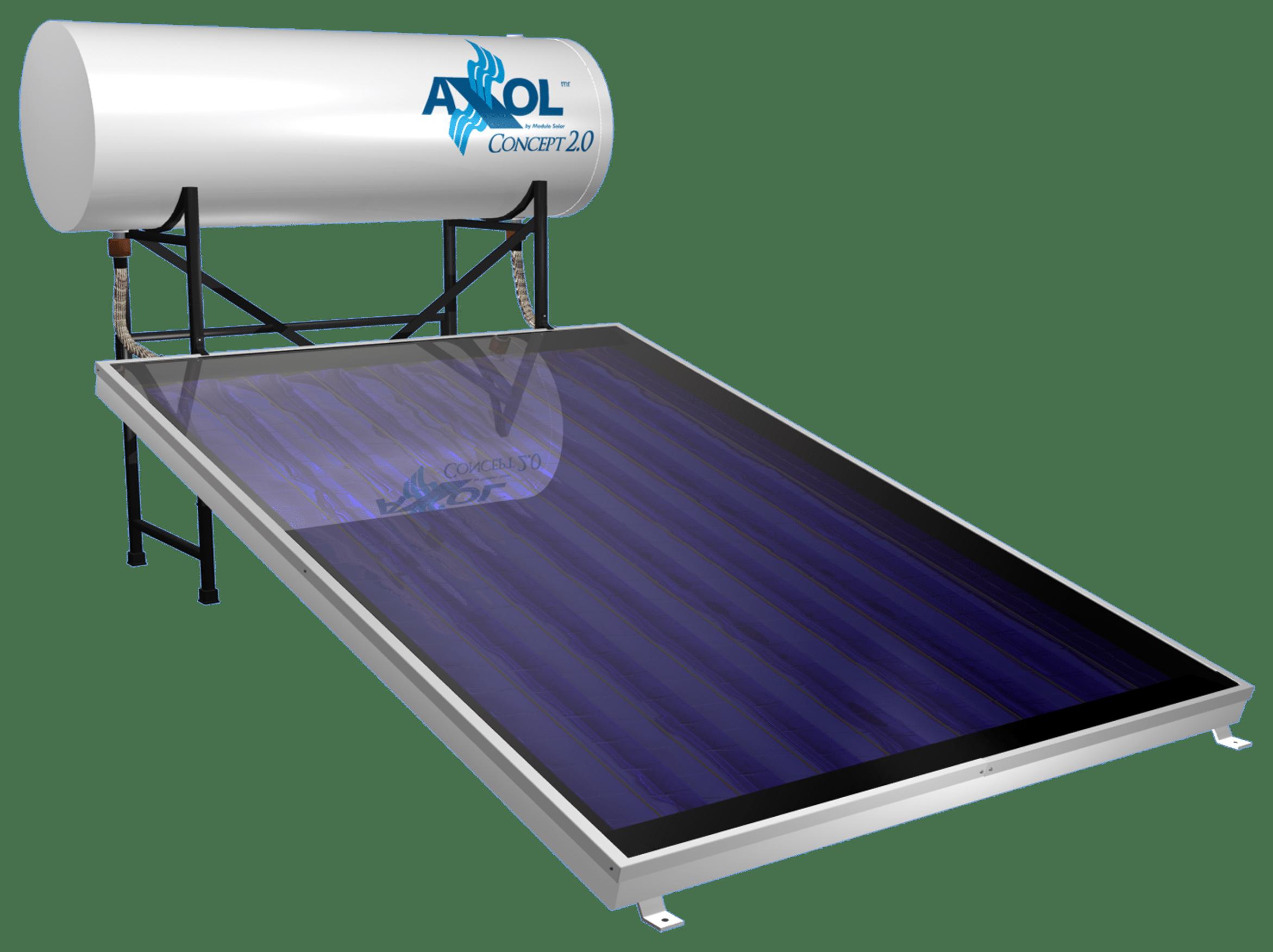 Calentador solar 150L