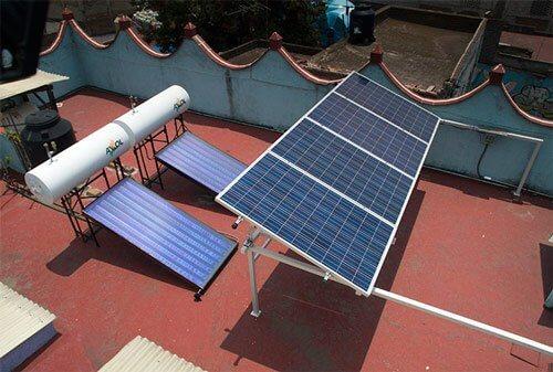Calentador-y-Panel-Solar