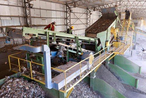 Clasificación y tratamiento de residuos