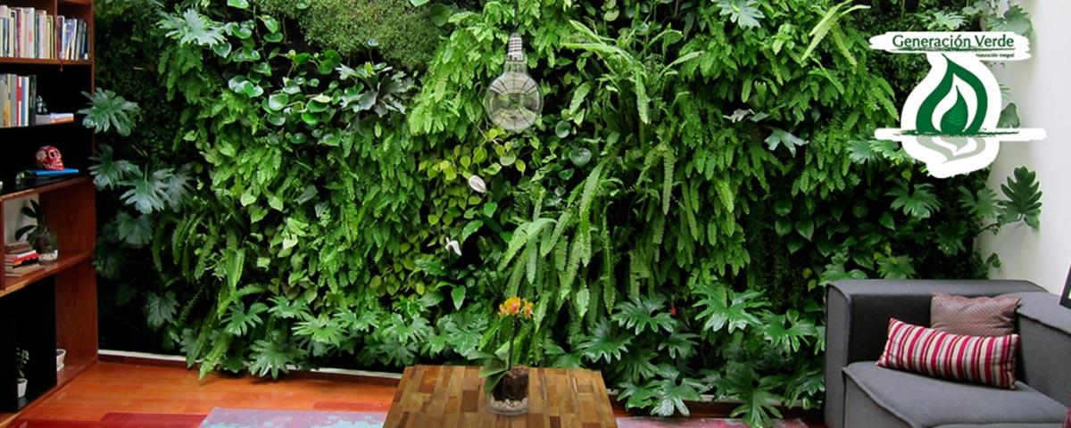 Muros verdes qu son y c mo se hacen aqu te mostramos lo for Muros y fachadas verdes jardines verticales