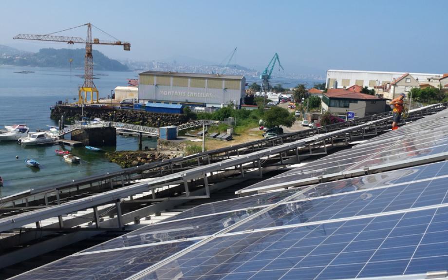 Empresas con Paneles Fotovoltaicos