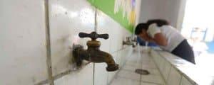 Captadores de Agua de Lluvia para la escasez de Agua en las Escuelas