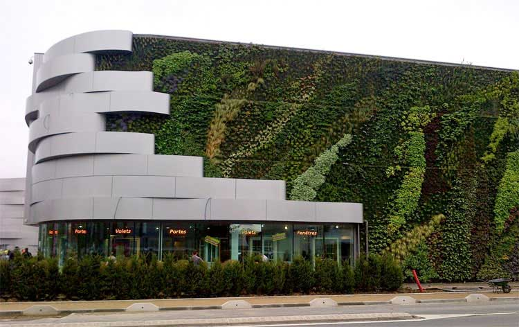 Jardines verticales qu son muros verdes naturales for Muros y fachadas verdes jardines verticales