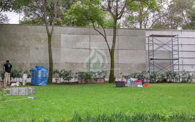 Muro Verde Exterior Altavista, Álvaro Obregón