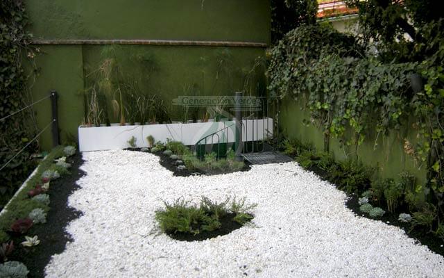 Azotea Verde ya instalada