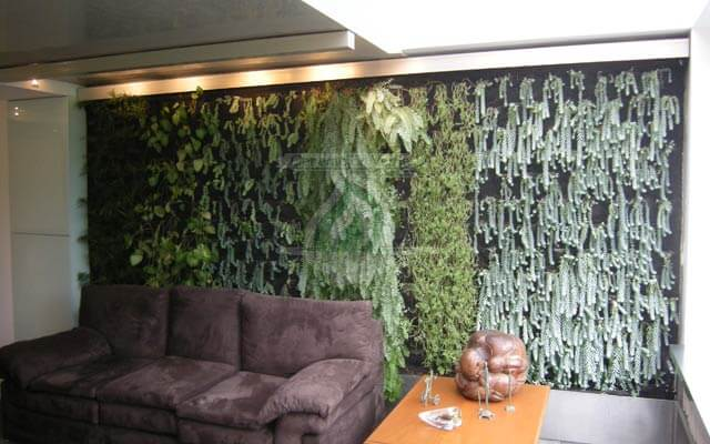 Jard n vertical interior renacimiento cuauht moc for Jardines verticales historia