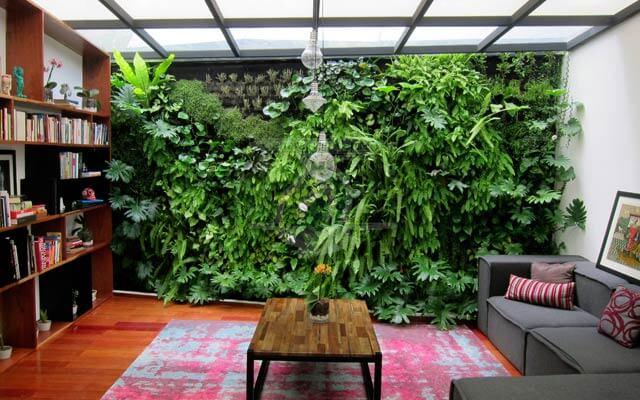 Jardín Vertical en Interior