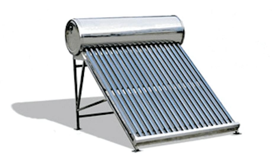 calentador solar de tubo