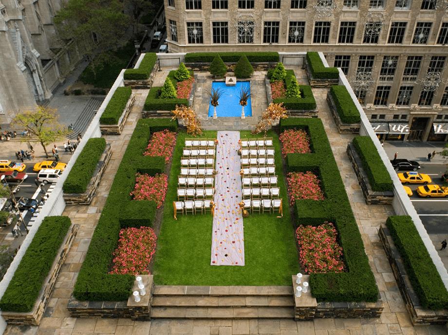 The Rockefeller Center Roof Gardens