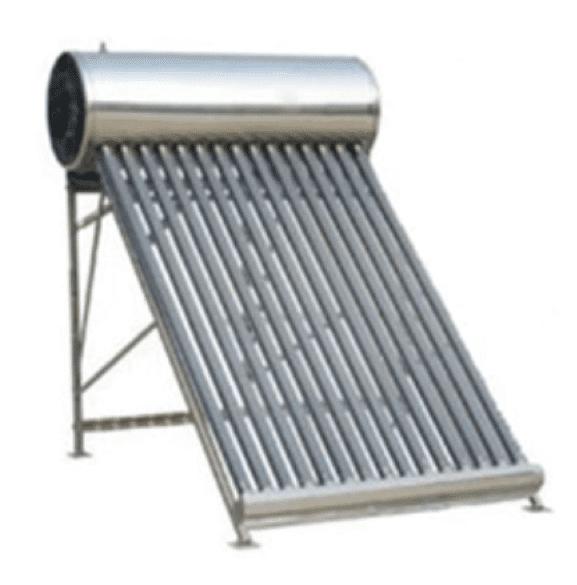 Calentador Solar con tubos