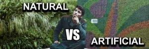 Muros Verdes: Naturales vs Artificiales