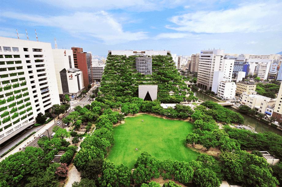 Parque de la ciudad de Fukuoka