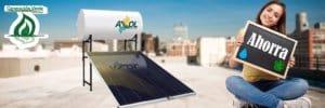 ¿Cómo ahorra un calentador solar?