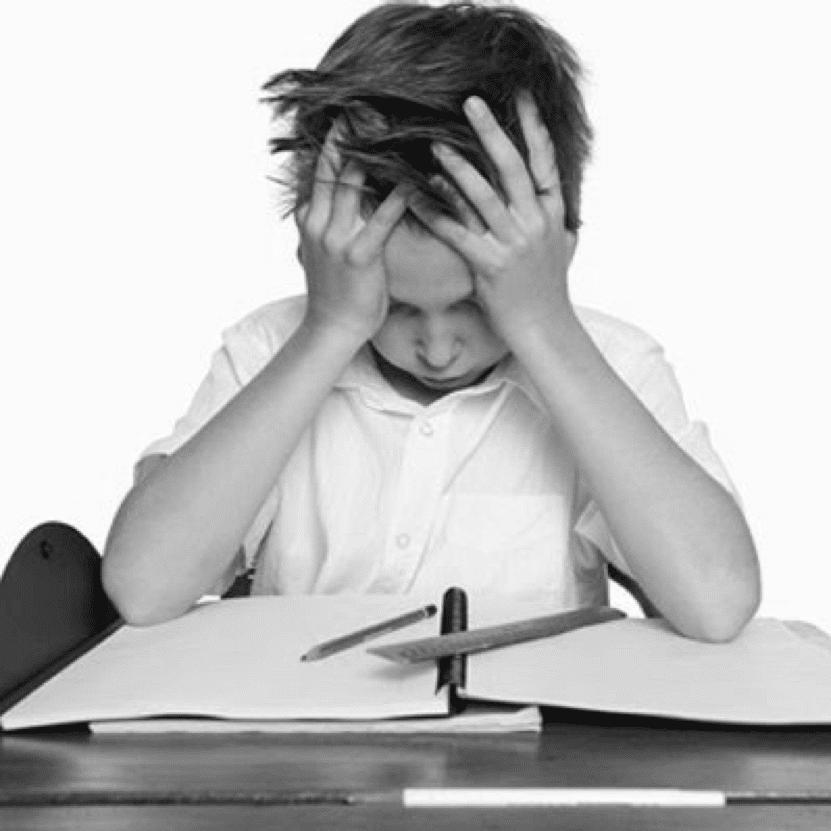 estrés escolar